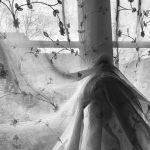 Charlotte Maier, 16 zuhause - schwarz/weiß